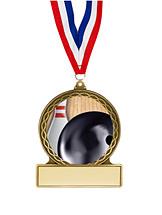 "Bowling Medal - 2 3/4"""