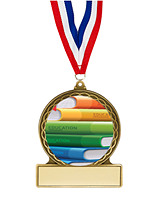 Education Medal - 2 3/4""