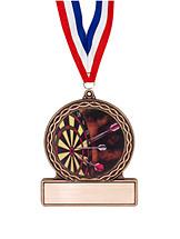 "2 3/4"" Darts Medal of Triumph"