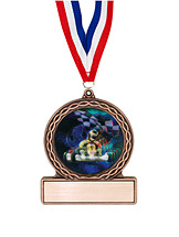 "2 3/4"" Go-Kart Medal of Triumph"