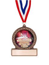 """2 3/4"""" Math Medal of Triumph"""