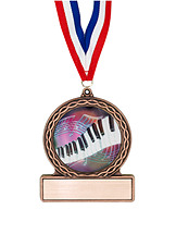 "2 3/4"" Piano Medal of Triumph"