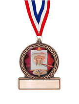 "2 3/4"" Art Medal of Triumph"
