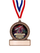 """2 3/4"""" Science Medal of Triumph"""