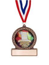 "School Medals - 2 3/4"" Attendance Medal of Triumph"