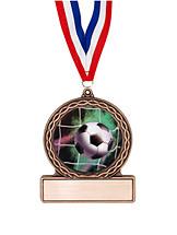 """Soccer Medal - 2 3/4"""" Soccer Medal of Triumph"""