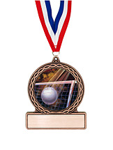 "2 3/4"" Volleyball Medal of Triumph"