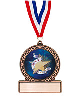 "2 3/4"" MVP Medal of Triumph"