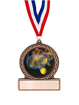 "2 3/4"" Tennis Medal of Triumph"