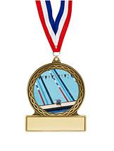 "Swim Medal - 2 3/4"""