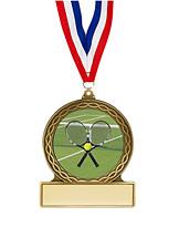 "Tennis Medal - 2 3/4"""