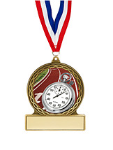 "Track Medal - 2 3/4"""