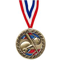 """Baseball Glitter Medal - 2 1/2"""""""