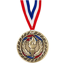 Victory Glitter Medal - 2 1/2