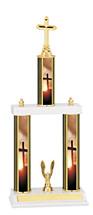 "Religious Trophy - 18-20"" 3 Column Trophy"