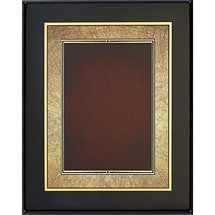 "8 x 10 - 9 x 12"" Shades of Copper/Red Art Plaque"