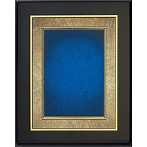 "8 x 10 - 9 x 12"" Shades of Copper/Blue Art Plaque"
