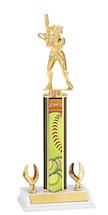 """Softball Trophy - 12-14"""" 2 Eagle Trophy"""