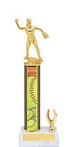 """Softball Trophy - 11-13"""" 1 Eagle Trophy"""