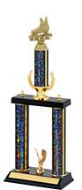 "18-20"" Dazzling Black Trophy"