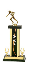 """14-16"""" Star Trophy with 2 Eagle Base"""