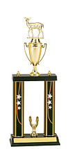 "18-20"" Double Column Star Trophy"