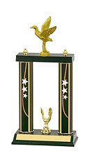 "13-15"" Double Column Star Trophy"