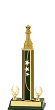 "12-14"" Star Trophy - 2 Eagle Base"