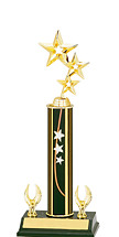 """12-14"""" Star Trophy - 2 Eagle Base"""