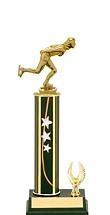 """11-13"""" Star Trophy - 1 Eagle Base"""