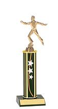 """10-12"""" Star Round Column Trophy"""