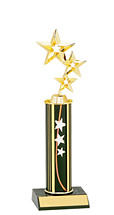 "10-12"" Star Round Column Trophy"