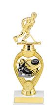 """Hockey Trophy - 10 3/4"""" Small Hockey Triumph Riser Trophy"""