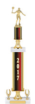 2017 Dated Gold Trophy with Exclusive Design - 20-22""