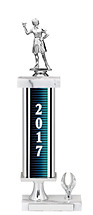 """2017 Trophy with 1 Eagle Base - 15-17"""""""