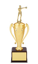 "18-26"" Gold Nylon Cup Trophy"