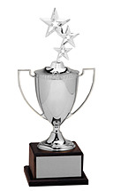 """12-22"""" Classic Silver Cup Trophy"""