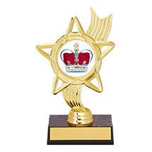 "6 1/4"" Holographic Star Award"
