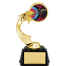 "7"" Star Riser Trophy with Emblem"