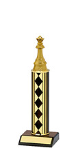"10-12"" Diamond Round Column Trophy"