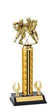 "12-14"" Holographic Trophy - 2 Eagle Base"