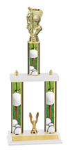 "Golf Trophy - 18-20"" 3 Column Trophy"