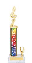 "Music Trophy - 11-13"" 1 Eagle Trophy"