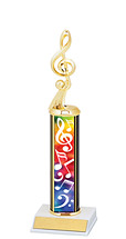 "Music Trophy - 10-12"" Trophy"