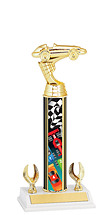 "Pinewood Derby Trophy - 9 1/2-11 1/2"" 2 Eagle Trophy"