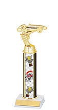 "7 1/2 - 9 1/2"" Pinewood Derby Trophy"