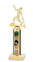 "10-12"" Single Column Softball Trophy"