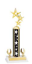 "Stars Trophy - 12-14"" Two Eagle Trophy"