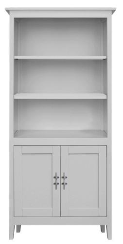 Margate Bookshelf with Doors  sc 1 st  Maine Cottage & Margate Bookshelf with Doors by Maine Cottage   Where Color Lives