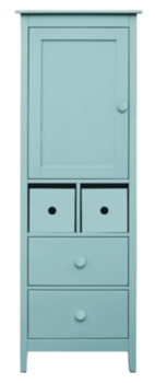 Amelia Single Door Armoire